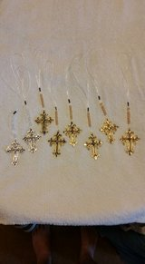 Butterfly Windchimes, Rearview Mirror Crosses, Small wooden Crosses in Kingwood, Texas