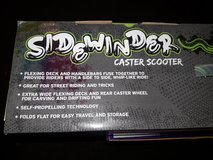 SIDEWINDER CASTER SCOOTER (BRAND NEW) in Yorkville, Illinois