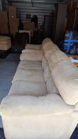 Couch chair ottoman set in Travis AFB, California