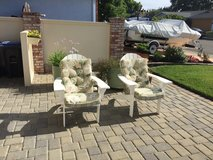 Patio chairs and cushions in Vacaville, California