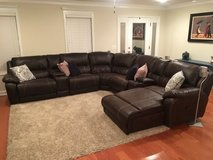 Leather sectional sofa in Fort Rucker, Alabama