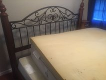 King size bed and mattress along with trundle bed in Lake Charles, Louisiana