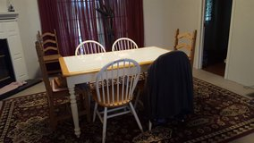 Kitchen table with 4 matching chairs in Perry, Georgia