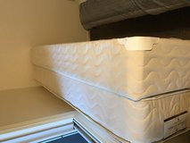 Twin Mattress and Box spring w/ Metal frame in Watertown, New York
