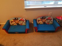 (2) Paw Patrol Couch in Fort Polk, Louisiana