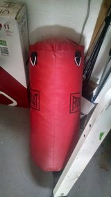 Boxing bag with stand in Alamogordo, New Mexico