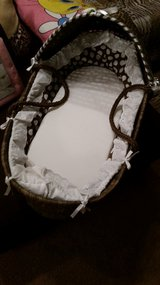 Chocolate Brown Moses Bassinet in Fort Campbell, Kentucky
