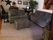 Like new couch and loveseat ottoman need gone by July 15 in Okinawa, Japan