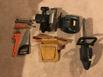 Play tools and belt in Bartlett, Illinois
