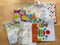 Assortment of Baby Shower Gift Bags in Okinawa, Japan