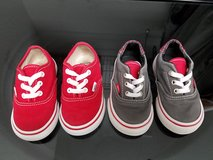 Vans toddler sz 4.5 & 5 in Baytown, Texas