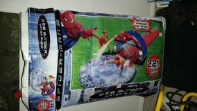 Spiderman slip n slide in Alamogordo, New Mexico