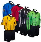 soccer referee jersey, referee on base in Vista, California
