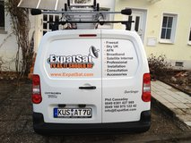 Satellite installation service in Ramstein, Germany