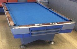 Delivered, Installed, New cloth, Accessory Kit 9 ft. AMF Pool Table in Lockport, Illinois