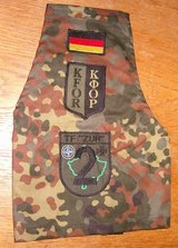 Three German Army - KFOR Brassards in Grafenwoehr, GE