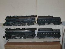 2 Lionel Post War Steam Engine #665 & 2056 in Quad Cities, Iowa