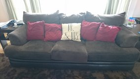 Microfiber Couch Set For SALE!! in Okinawa, Japan