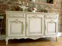Beautiful Antique Sideboard Shabby Chic Amazing Cabinet Dresser Chest Of Drawers Fantastic Piece! in Ramstein, Germany