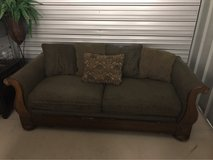 wood couch in Perry, Georgia