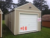 12x32 WIRED Garage Storage Building Shed DISCOUNTED!!! in Valdosta, Georgia