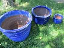 3 Cobalt Garden Containers in Glendale Heights, Illinois