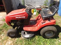 yard machine riding mower 38 in cut in Fort Campbell, Kentucky