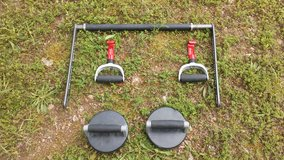 Perfect push up and pull up bar in Fort Leonard Wood, Missouri
