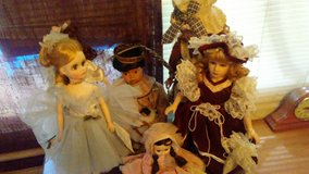 Porcelain Dolls. Maybe American decor in Fort Campbell, Kentucky