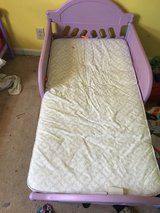 Two girl toddler beds with mattress in Fort Campbell, Kentucky