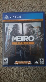 Ps4 Metro Redux in Fort Riley, Kansas