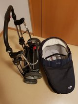 Stroller w/ Infant Carry-cot in Stuttgart, GE