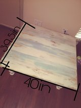 Coffee Table - 40inW  X  39.5in   X.16inT in Conroe, Texas