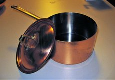 Revere Ware Copper Saucepan with Lid in DeKalb, Illinois