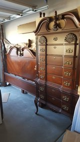 High Boy Dresser with 4 post King frame in Travis AFB, California