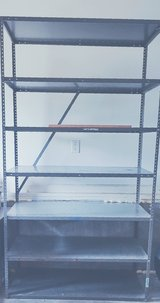 Open Industrial Steel Shelving with 7 Shelves in Camp Lejeune, North Carolina