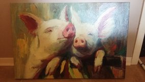 Pig Picture Canvas. Named...Here Piggy in Conroe, Texas
