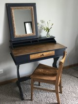 Vintage Writing Desk with mirror in Naperville, Illinois