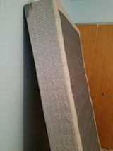 Twin Box Spring With Metal Frame in Naperville, Illinois