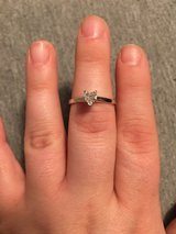 .51 ct Heart-Shaped Diamond Engagement Ring in 14 kt White Gold setting in Waukegan, Illinois