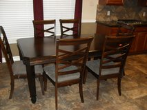 Breakfast Table,  6 chairs,, center extension,, in Bellaire, Texas