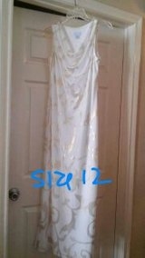 BEAUTIFUL GOLD/CREAM DRESS- SZ 12 in Bellaire, Texas