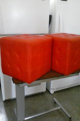 Foot Stools ( 2 RED ) in Fort Campbell, Kentucky