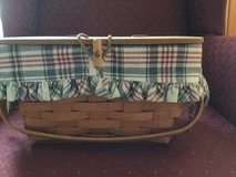 Woman's Longaberger Basket Purse in Naperville, Illinois