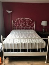 Full size Ikea bed/can be sell separately in Joliet, Illinois