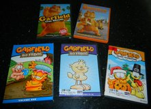 Garfield & Friends Box Set Movie DVD + Holiday Celebrations Lot 8 DVD's in Kingwood, Texas