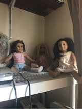 3 American girl dolls in Alamogordo, New Mexico