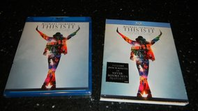 NEW This Is It Blu-Ray DVD Micheal Jackson Movie Factory Sealed in Kingwood, Texas