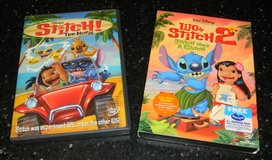 Disney DVD Lilo & Stitch 2 + STITCH The Movie Lot Stitch Has A Glitch in Kingwood, Texas