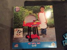 New Kids first grill in Morris, Illinois